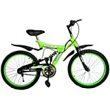 Torado Muscular 20 Inches Bicycle For 7-10 Years Boys And Girls - Green