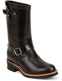 Más barato 1901M48 hombres botas de negro, Black Whirlwind Upper con suela Vibram V-Bar de corcho