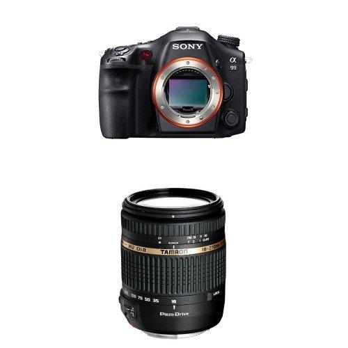 Sony SLT-A99V - Digitale Spiegelreflexkamera Kit inkl. Tamron 18-270mm f/3.5-6.3 Di II PZD Objektiv