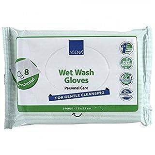 Abena Wet Wash Handschuhe, 8Stück
