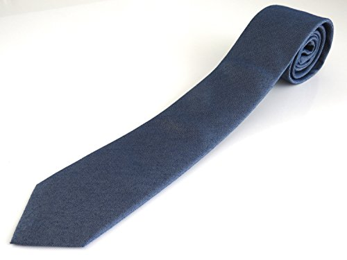 Calvin Klein Seidenkrawatte Elegance Aufdruck tonal blaue
