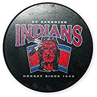 "Hannover Indians Puck ""since 1948"""