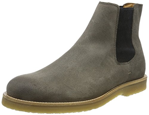 BOSS Orange Herren Cuba_Cheb_sdws Chelsea Boots, grau (medium grey), 43 EU