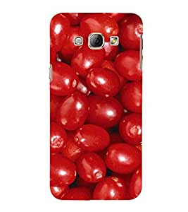 PrintVisa Red Grapes Pattern 3D Hard Polycarbonate Designer Back Case Cover for Samsung Galaxy A8 :: Samsung Galaxy A8 Duos :: Samsung Galaxy A8 A800F A800Y