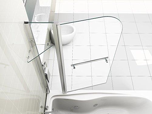 HNNHOME 180° Pivote Panel Doble más baño Toalla