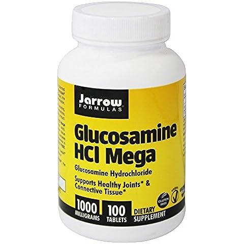 Jarrow Formulas - Mega glucosamina HCl 1000 mg. - 100 tabletas
