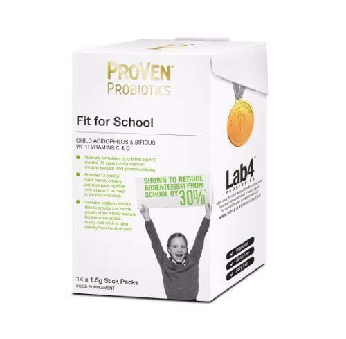 Vega Nutritionals Ltd A | Proven Fit For School Stick Packs | 1 x 14s (FR)