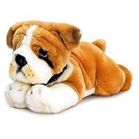 Keel Toys SD4566 30cm Soft Plush Bulldog, Brown