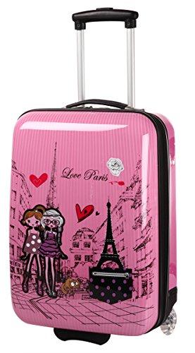d4a406b16 Madisson - Equipaje infantil niños rosa rosa 50 - Las maletas de viaje