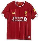 New Balance - Maglietta da bambino del Liverpool Fc 2019/20, in jersey, taglia S, Bambino, JT930000, Home, 158