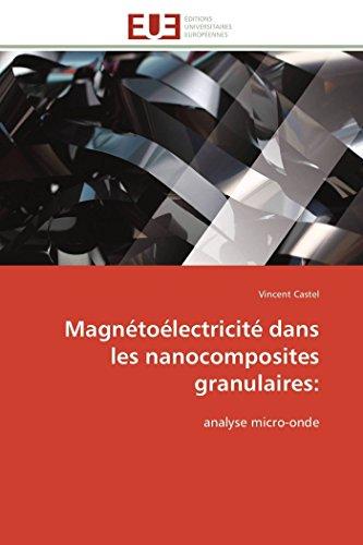 Magnétoélectricité dans les nanocomposites granulaires: