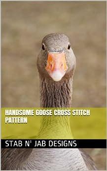 Handsome Goose Cross Stitch Pattern
