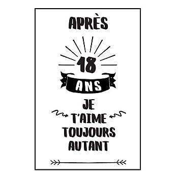 Anniversaire De Mariage Carnet De Notes: Idée Cadeau 18 Ans De Mariage, Pour Elle, Pour Lui, Original Et Pratique, Noce De Turquoise