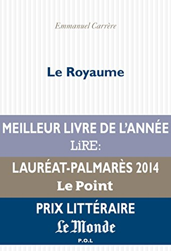 Le Royaume (Fiction) par Emmanuel Carrère