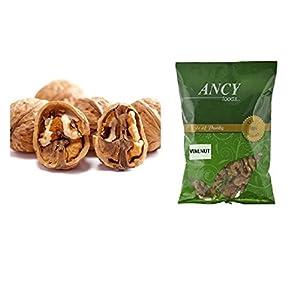 ANCY 100% Natural Kashmiri Walnut/Akhrot Giri, 500 Grams