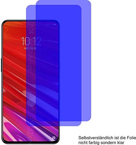 2X Crystal Clear klar Schutzfolie für Lenovo Z5 Pro GT Bildschirmschutzfolie Displayschutzfolie Schutzhülle Bildschirmschutz Bildschirmfolie Folie
