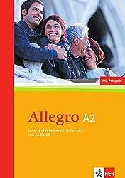 Allegro A2: Lehr- und Arbeitsbuch + Audio-CD