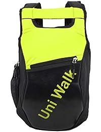 DAHSHA Spacious School Backpacks For Walking, Day Trip, Travel, Gym, Sports (Neon Green/Black)