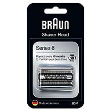 Braun Series 8 83M Elektrischer Rasierer Scherkopfkassette – Silber