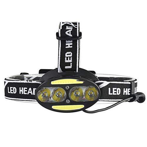 Tao-Miy USB-Lade-T6-Scheinwerfer mit starkem Scheinwerferlicht 6 Scheinwerfer Scheinwerfer