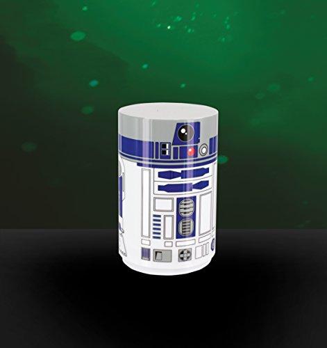 41F9fOSuckL - Star Wars R2 D2 - Mini luz con sonido, multicolor