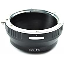 Adaptador de lentes para Canon EOS EF EF-S a Fujifilm Fuji FX X-Pro1 X-M1 X-A1 X-E1