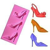 Silikon Schuhe Design Fondant Kuchen Formen Schokolade Schimmel Dekoration