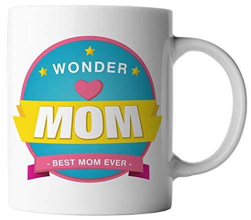 Ghostee tazza di caffè - super mom best mom ever - festa della mamma supereroe protagonisti