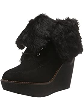 Buffalo London Damen 415-1875 Cow Suede Kurzschaft Stiefel
