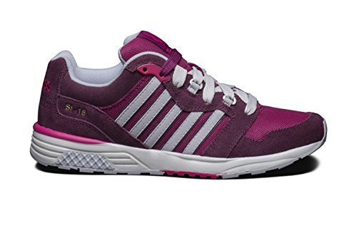 K-Swiss SI-18 Trainer 2 Womens Sneakers Mauve Wine/Boysenberry/Beetroot Purple 7.5 (K-swiss Purple Schuhe)