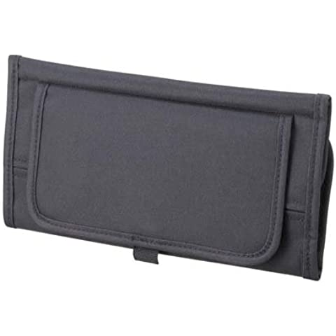 NAPOLEX JK-63 Car Sunvisor Pocket Tissue Box Cover Organizer Sunglass Holder Black Universal by