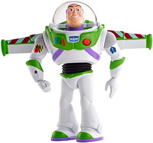 Mattel Disney Toy Story 4-Buzz Lightyear Superguardián Andarín, Juguetes niños +3 años GGH43, Multicolor
