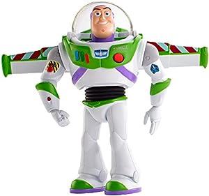 Mattel Toy Story 4 Super Action Buzz Lightyear - Figura de Buzz (17 cm)