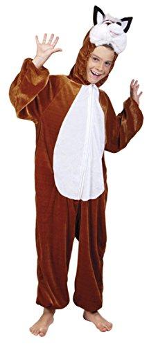 B88054-116 Fuchs Kostüm Kinder Gr.bis max.116 cm Körpergröße