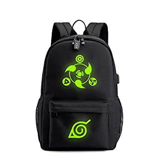 QWEER Bag Men's Surrounding Backpack Student Campus Computer Bag Waterproof Wear-Resistant Tearing Shoulder Strap Breathable Elastic Decompression Light and Convenient (Color : Green, Size : M)