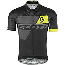 Scott RC Premium Bicicleta Camiseta Corta Color Blanco/Gris 2017, primavera/verano, hombre, color black/sulphur yellow, tamaño L (50/52)
