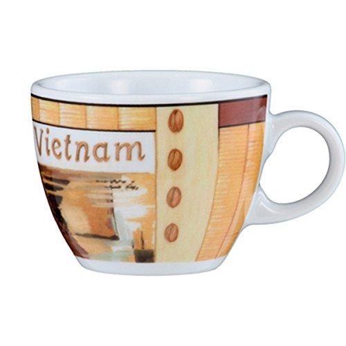 Seltmann Weiden VIP. Espressotasse (1132), Mokkatasse, Tasse, Porzellan, Vietnam, 90 ml, 1648107
