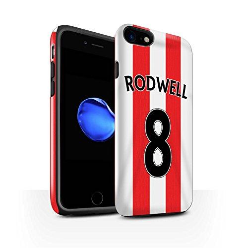 Offiziell Sunderland AFC Hülle / Glanz Harten Stoßfest Case für Apple iPhone 7 / Torwart Muster / SAFC Trikot Home 15/16 Kollektion Rodwell