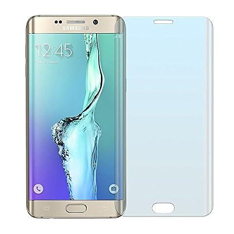 Samsung Galaxy S6 EDGE Plus Panzerglas, NEVEQ® Schutzfolie aus hochwertigem gehärtetem Glas für Samsung Galaxy S6 EDGE Plus (5.7) Zoll-Display Abdeckungshaut mit 9H-Härte Displayfolie.