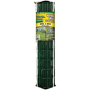 YardGard 308357A 91,4cm by 50Fuß 14Gauge 5,1cm, 10,2cm Mesh PVC geschweißter Draht
