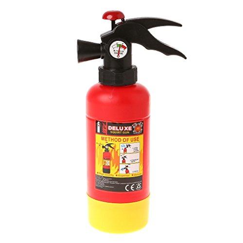 ZJL220 Neuheit Sommer Feuerlöscher Form Spritzen Wasserpistole Pistole Für Kinder Kinder -