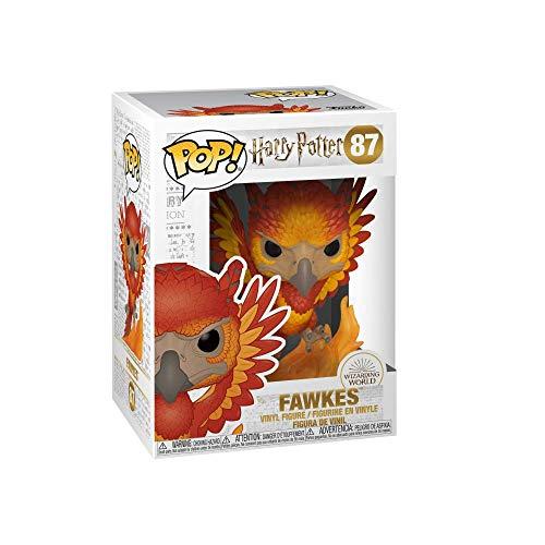 41F9pPRraKL - Funko- Pop Figura de Vinilo: Harry Potter S7-Fawkes Coleccionable, Multicolor, Talla única (42239)