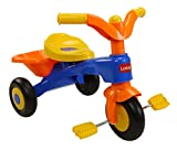 LuvLap Charlie Baby Tricycle with Horn (Orange)