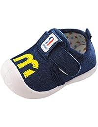 K-youth® Zapatos Bebe Niña con Suela Zapatos Para Niñas Zapatos Primeros Pasos Para Bebé Niñas Zapatillas Prewalker