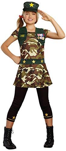 SugarSugar Girls Cadet Cutie Costume, One Color, Large, One Color, Large by Sugar -