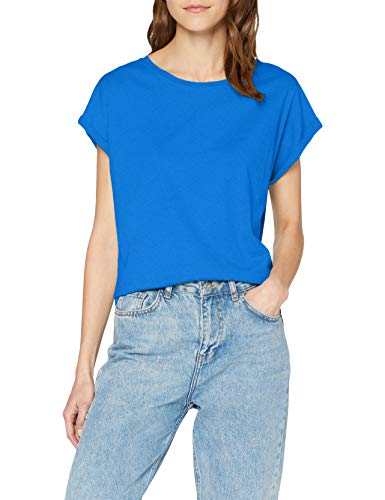 Urban Classics ErwachsenDamen Ladies Extended Shoulder Tee T-Shirt, brightblue, M