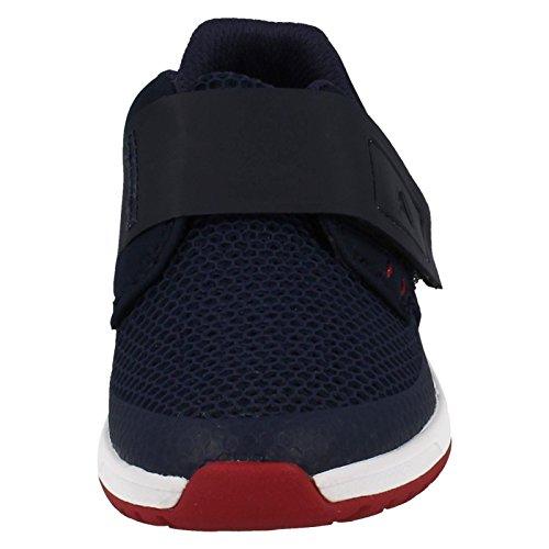 Clarks Frisby Ace Inf, Sneakers basses garçon Bleu Marine