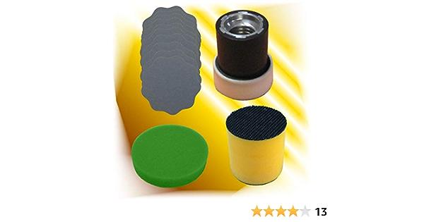 10 X Schleifblüten Polierschwamm Schleifblütenhalter Polierteller Gewerbe Industrie Wissenschaft