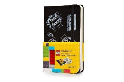 Moleskine Lego Quaderno, Tascabile, a Pagine Bianche, Nero