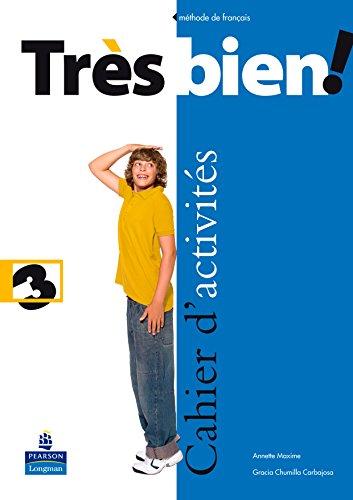 Très bien ! 3 cahier d'activités pack (français) (Tres Bien!)
